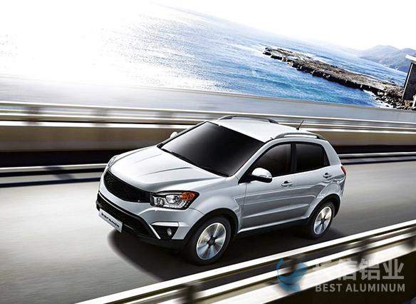 拉丝铝板应用-汽车