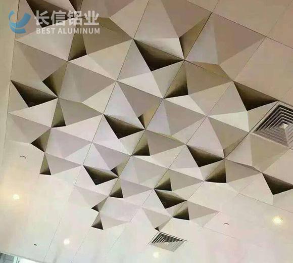 铝单板造型天花