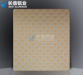 方纹压纹铝板