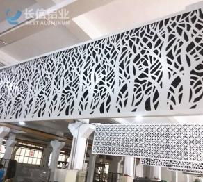 镂空雕刻铝单板